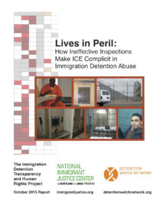 Seminal report by the National Immigration Justice Center and Detention Watch Network about the ICE inspections process.