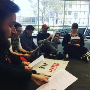 Sit-in protest for Hamed, DIBP, Nyoongar Country (Perth), 2017