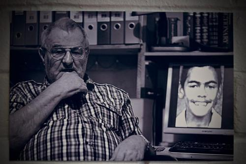 Uncle Ray and  photos of the late TJ Hickey Jnr