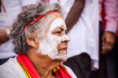 Aunty Mingli,  Stop Deaths in Custody National Day of Action, Whadjuk Nyoongar Country, 2014