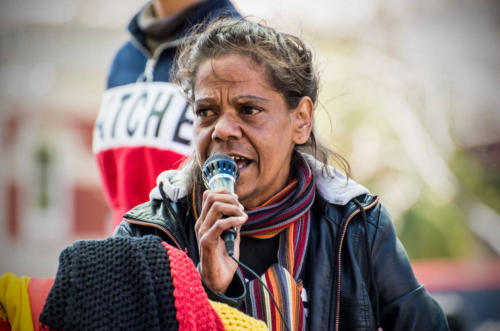 Corina Hayden Howard,  Our Children Are Our Future Protest, Whadjuk Nyoongar Country, 2018 Marziya
