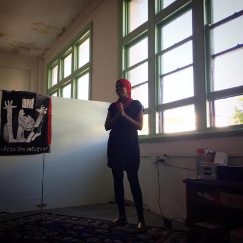 'I Will Rise' Perth Book Launch, Paper Mountain, Whadjuk Nyoongar Country, 2017.