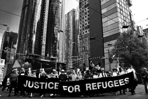 Justice For Refugees, Naarm, Kulin Nations (Melbourne), 2018.