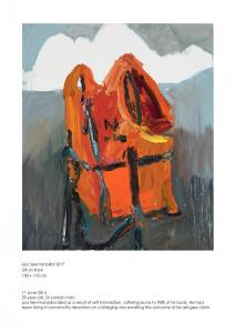 Life vest for Leo Seemanpillai, 2017.