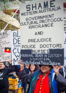 Justice for Elijah Rally, Whadjuk Country (Perth), 2017