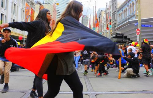 NAIDOC rally,  Narrm, 2016