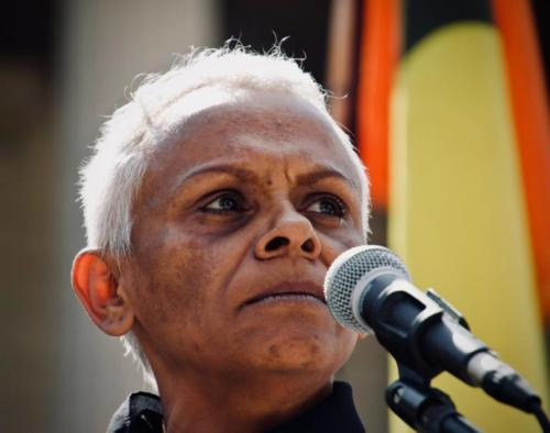 Vivian Malo,  Invasion Day Protest, Naarm, Kulin Nations (Melbourne), 2019.